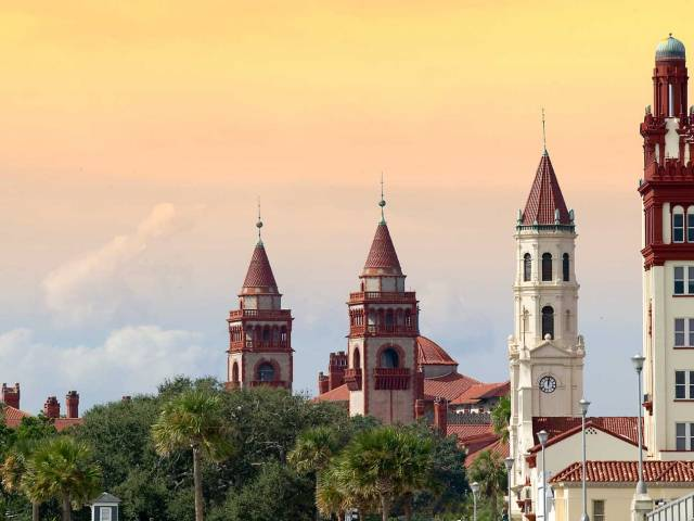 Enjoy the historic architecture of America's oldest city.