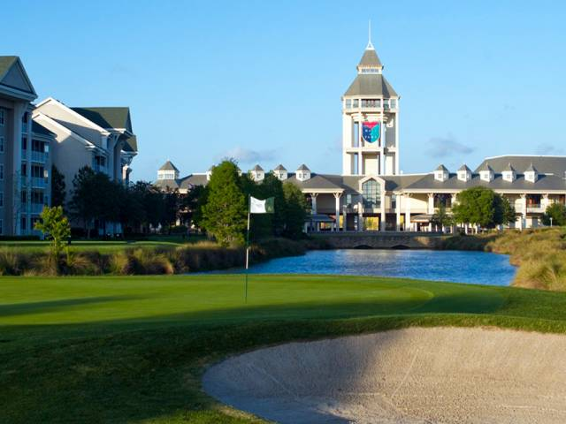 World Golf Village is home to the World Golf Hall of Fame, as well as two Hall of Fame member-designed courses, King & Bear and Slammer & Squire.