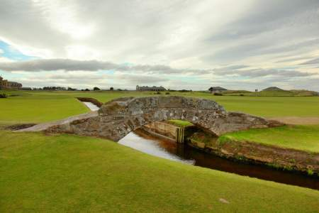 Old course at st. andrews scotland