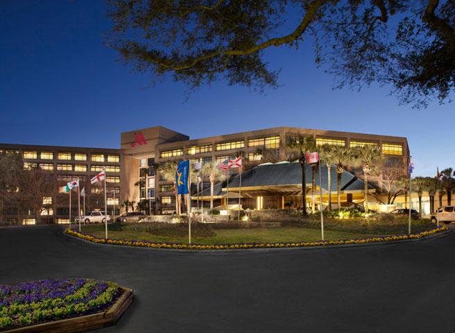 Front Entrance of Sawgrass Marriott Golf Resort & Spa
